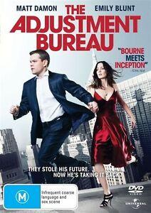 The Adjustment Bureau DVD ACTION - Matt Damon + Emily Blunt
