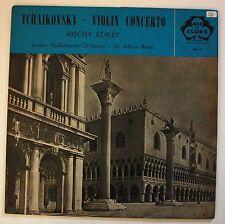 Tchaikovsky Violin Concerto Mischa Elman London Philharmonic Orchestra, Boult LP
