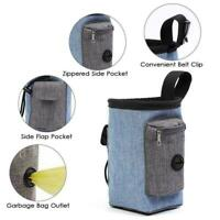 Pet Dog Walking Pouch Bag Puppy Training Treat Bag Dispenser Bags Poo Z6T7