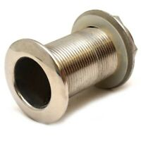 Fountain Boat Thru Hull Fitting 13918   1 1/2 Inch Stainless Steel