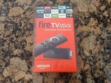 Amazon Fire Tv Stick w/Alexa Voice Remote Streaming Media Player! Brand New!!