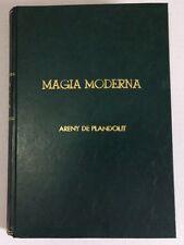 1913 Maravillas de la Magia Moderna by Areny Plandolit Illustrated Magic Book