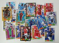 2019/20 English Premier League Cards - Lot of 40 cards incl 8 Shiny