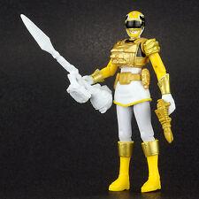 "Power Rangers Megaforce Ultra YELLOW RANGER 4"" Action Figure Bandai 2013"