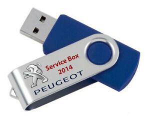 Peugeot Service Box 2014 Tis + Epc + Wds Auf Usb-Stick Von 16GB - PC & Mac