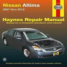 2007 2008 2009 2010 2011 2012 Nissan Altima Haynes Repair Manual 0506