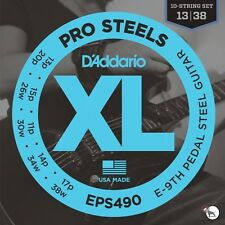 D'Addario EPS490 Prosteels Pedal Steel Guitar Strings E-9th