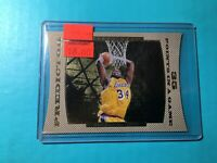 SHAQUILLE O'NEAL 1997 UPPER DECK PREDICTOR DIE-CUT INSERT CARD #7 LAKERS SHAQ