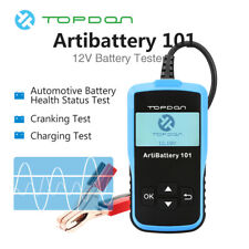 HOT 12V 100-2000CCA Car Battery Tester Digital Cranking Charging System Analyzer