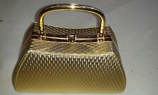 ACCESSORIZE SHOULDER CLUTCH BAG - GOLD - WEDDING PROM NEW WITHOUT TAGS GOLD