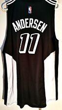 Adidas Swingman 2015-16 NBA Jersey Miami Heat Chris Andersen Black Fashion sz 2X