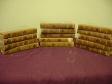 1904 Bible--14 volumes Hinkley Bible-many  great picture plates-famous painters