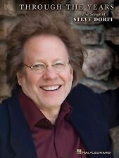 Steve Dorff - Through the Years - Piano/Vocal/Guitar