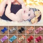 Toddler Girls Baby Kids Big Bow Infant Headband Stretch Turban Knot Head Wrap