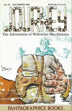 JOURNEY #23 DECEMBER 1985 ADVENTURES OF WOLVERINE MACALLISTAIRE FANTAGRAPHICS