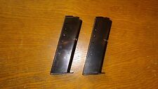 Two (2) Astra A-75 9mm 8 Round Magazines 8rd Mags also for .40 S&W 7rd