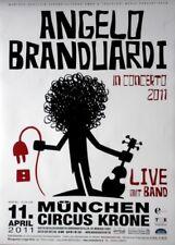 BRANDUARDI, ANGELO - 2011 - Konzertplakat - Concert - Tourposter - München