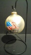 PATRIOT - GOD BLESS AMERICA - 3 INCH ORNAMENT  - KREBS