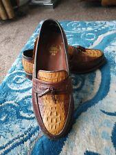 Mens Genuine Crocodile Leather Shoe