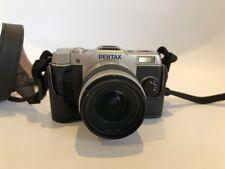 PENTAX Q7 12.4 MP Digital Camera - Silver (Kit w/ 5-15mm Lens) + Holster   3YGF