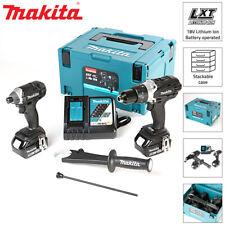 Makita DLX2145TBJ 18V Black Twin Pack Combi Drill & Impact Driver + 2 x 5.0Ah
