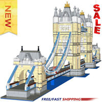 New Architecture Tower of London Tower Bridge Extension Expert MOC-12269 Blocks
