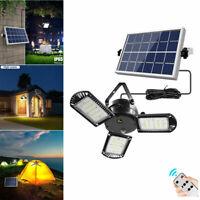 Solarbetriebene 60 LED Pendelleuchte Mit Fernbedienung Timer Außen Gartenlampe