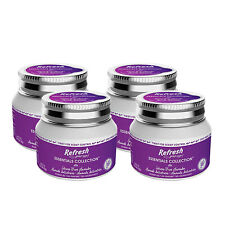 Refresh Essentials Collection Stress Free Lavender Gel Jars Air Freshener 4-Pack
