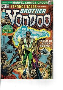 Strange Tales 169 1st Brother Voodoo G/VG 1973 Glossy