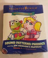 Sound Patterns Phonics Jim Henson's Muppets Pc Software Vol 5 Brighter Child New