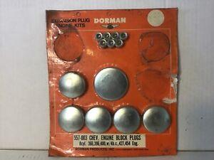 Doorman Expansion Plug Engine Kit 557-003 Chevrolet Block  366 396 427 454 Chevy