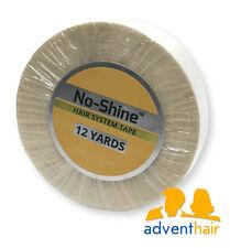 "No Shine Bonding Tape Roll 3/4"" x 12 yds WALKER lace wig toupee hairpiece"