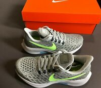 Nike Air Zoom Pegasus 35 Running Athletic Shoes Kids Youth Sizes 3 4 NEW