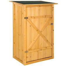 Armadio da esterno in legno casetta per gli attrezzi officina giardino balcone n