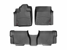 WeatherTech FloorLiner Mats for Toyota Sequoia 2008-2011 1st 2nd Row Black