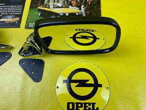 New Mirror Opel Kadett C Right + Holder Exterior Mirror Also Ascona B Mirror