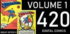 """SUPERMAN "" COLLECTION OF 420 DIGITAL COMICS"
