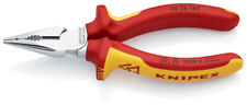 Knipex 08 26 145 VDE Long Needle Nose Combination Cutting Plier Insulated 145mm