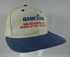 Vintage 1995 Indianapolis 500 Bank 1 One Rookie of the Year Award Snapback Hat