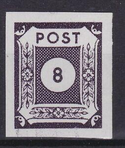 SBZ-Ostsachsen Nr. 44 AB  postfrisch geprüft BPP Kunz  8 Pfg 1945