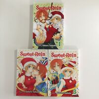 Sweet Rein Complete Manga Lot Vol. 1-3 English Sakura Tsukuba