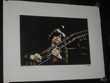 LED ZEPPELIN / JIMMY PAGE - P/SIGNED AND NUMBERED LIMITED EDITION PRINT!