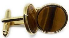 TIGER EYE AND GOLD CUFFLINKS MANUFACTURERS DIRECT PRICING