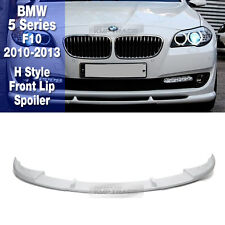 H style FRP Unpainted Front Lip Skirt Spoiler For BMW 2010-2013 5 Series F10