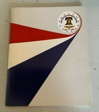 Nas Willow Grove Bicentennial Air Show Program July 3 & 4 1976