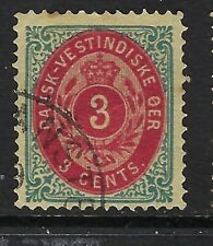 Danish West Indies, Sc#6 Vf Used, Cv $20.00, Lot 8-32