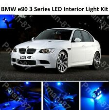 PREMIUM Blue BMW E90 3 Series 04-11 FULL LED Light UPGRADE Interior KIT