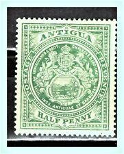 "ANTIGUA & BARBUDA 1908 / 17 Sc: AG-31 ""Seal of the Colony"" 1/2 p MLH"