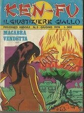 KEN-FU Il giustiziere giallo n° 5 (UP, 1974)