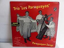 "25 CMS 10"" TRIO LOS PARAGUAYOS Paraguayan songs P 10403 R"